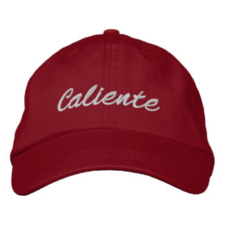 Caliente Embroidered Hat