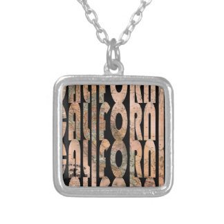 california1861 silver plated necklace