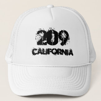 California 209 area code. trucker hat