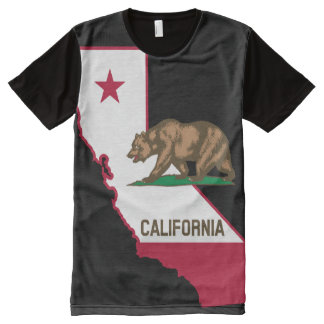 California-2 All-Over Print T-Shirt