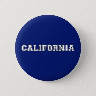 California 6 Cm Round Badge
