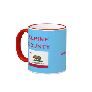 CALIFORNIA*- Alpine County Coffee Mug