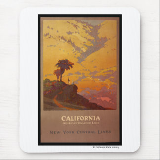 California. America's Vacation Land Mouse Pad