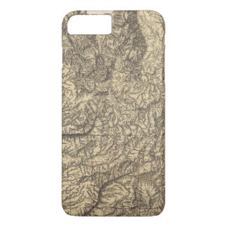 California and Nevada 4 iPhone 7 Plus Case