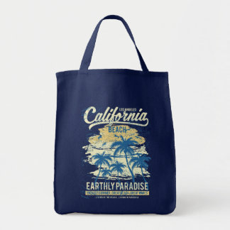 California Beach Living in Paradise Endless Summer Tote Bag