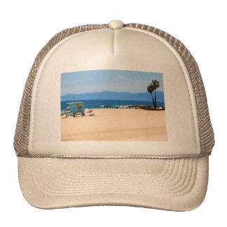 California Beach Painted Hat