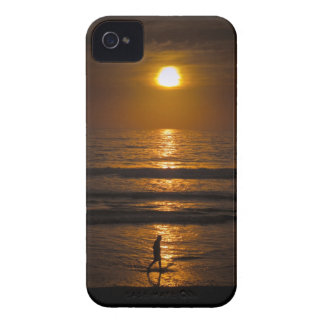 California Beach Sunset iPhone 4 Cases
