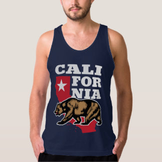 California Bear and Star Singlet