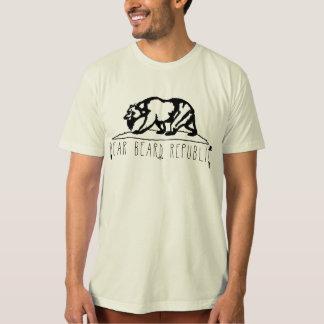California Bear Beard T-Shirt