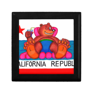 California Bear Feet Flag Gift Box