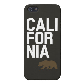 California + Bear iPhone 5/5S Cover