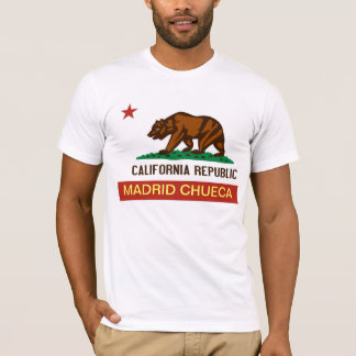 California Bear Madrid Osos Chueca Camiseta Shirt