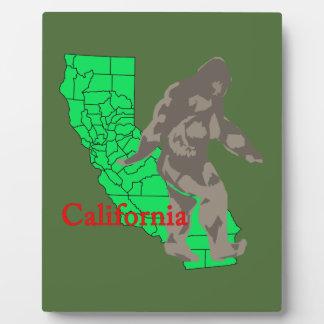 California bigfoot plaque