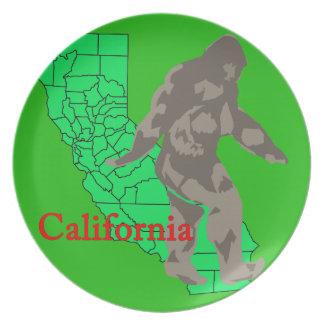 California bigfoot plate