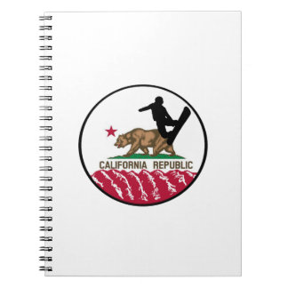 California Boarders Notebook