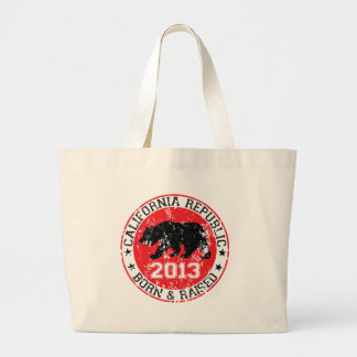 California Born and Raised 2013 Canvas Bags