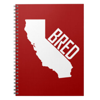 California Bred Notebook