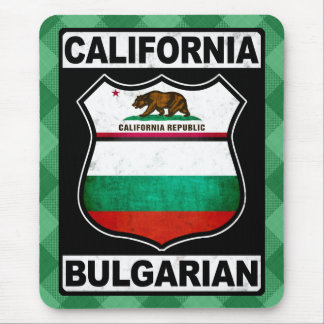 California Bulgarian American Mousemat