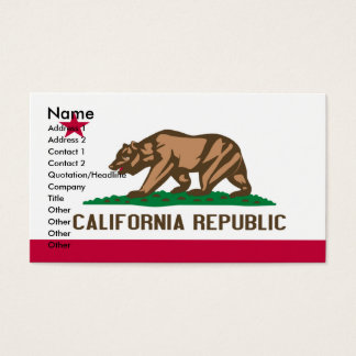 CALIFORNIA Business Cards