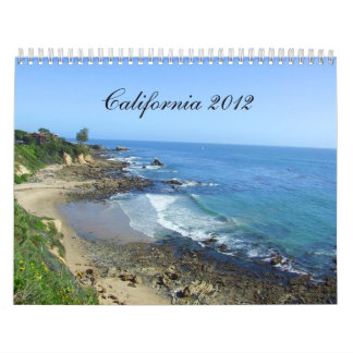 California Calendar, 2012 Travel Calendar CA