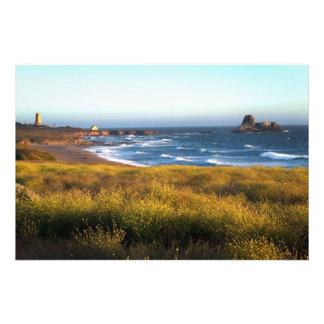 California Coast Art Photo