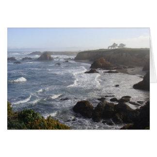California Coastal Morning Card
