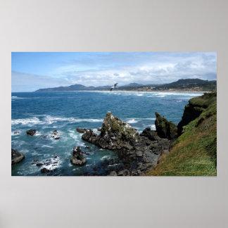 California Coastal Poster