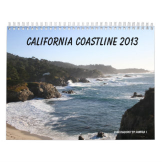 California Coastline 2013 Calendars