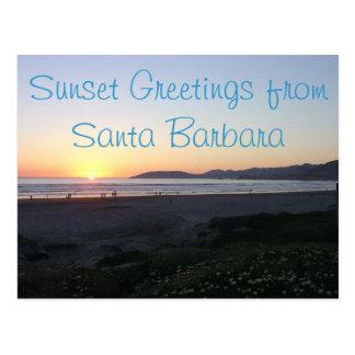 California Coastline Postcard