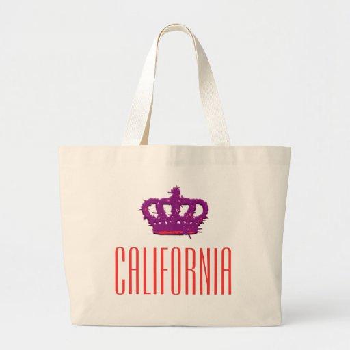 California Crown Jumbo Tote Bag