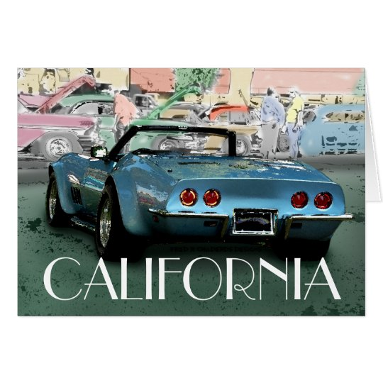 CALIFORNIA cruiser Card