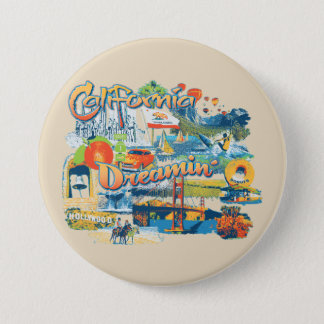 California Dreaming 7.5 Cm Round Badge