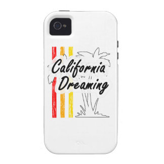 California Dreaming Vibe iPhone 4 Case