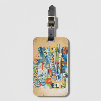 California Dreaming Luggage Tag