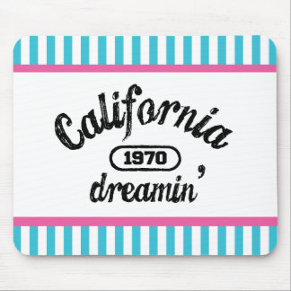 California Dreaming Mouse Pad