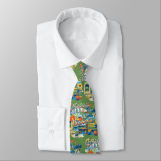 California Dreaming Tie