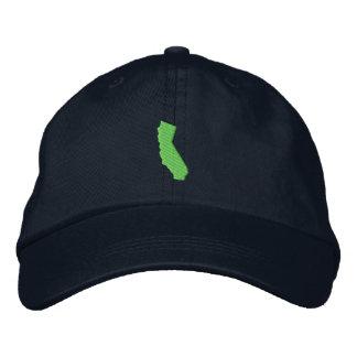 California Embroidered Baseball Caps