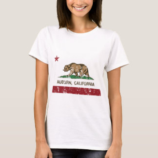 california flag auburn distressed T-Shirt