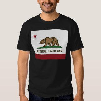 california flag bayside t shirt