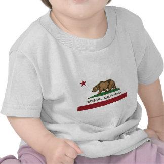 california flag bayside tee shirts