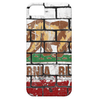 California Flag Brick Wall Grunge iPhone 5 Cover