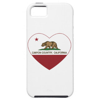 california flag canyon country heart iPhone 5 cover