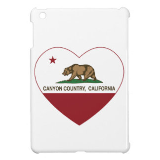 california flag canyon country heart case for the iPad mini