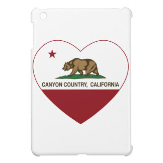 california flag canyon country heart cover for the iPad mini