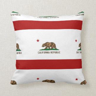 CALIFORNIA FLAG PILLOWS