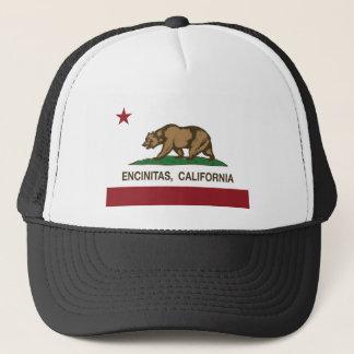 california flag encinitas trucker hat