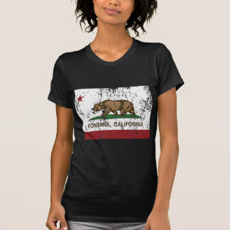 california flag fontana distressed T-Shirt