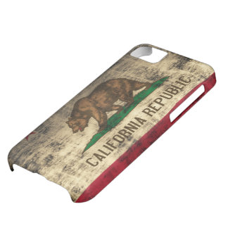 California Flag Grunge iPhone 5C Case