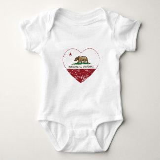 california flag indian wells heart distressed baby bodysuit