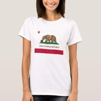 California Flag Kale Version (Kale-ifornia) T-Shirt